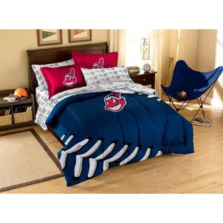 MLB Cleveland Indians 7-piece Bed in a Bag Set
