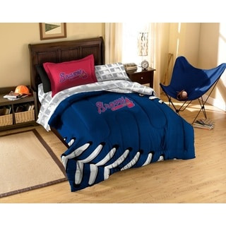 MLB Atlanta Braves 7-piece Bed in a Bag Set