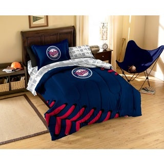MLB Minnesota Twins 7-piece Bed in a Bag Set
