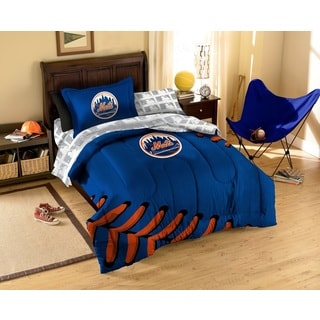 MLB New York Mets 7-piece Bed in a Bag Set