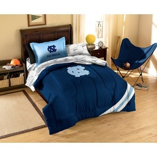 University Of North Carolina Tar Heels (UNC) 7-piece Bed in a Bag Set