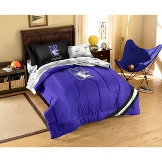 Northwestern University Wildcats 7-piece Bed in a Bag Set