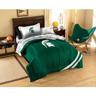 Michigan State University Spartans 7-piece Bed in a Bag Set