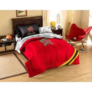 Universtiy of Maryland 7-piece Bed in a Bag Set