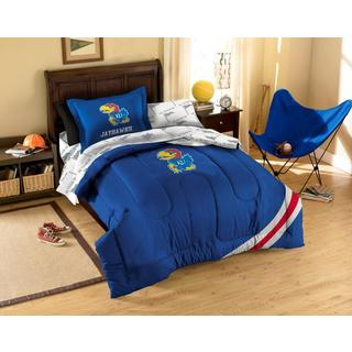 Kansas University Jayhawks 7-piece Bed in a Bag Set