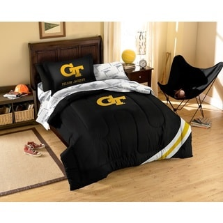 Georgia Tech Yellow Jackets 7-piece Bed in a Bag Set