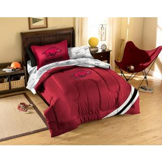 Arkansas State University 7-piece Bed in a Bag Set