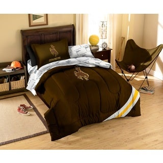 University of Wyoming Cowboys 7-piece Bed in a Bag Set