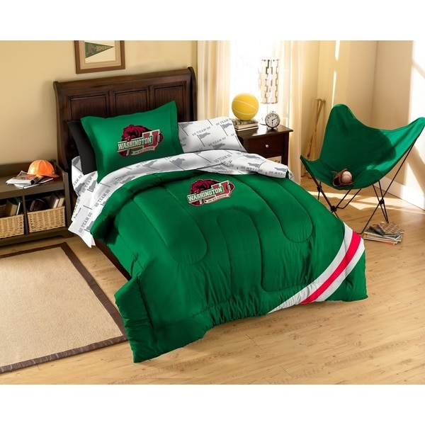 Washington University in St Louis Bears 7-piece Bed in a Bag Set