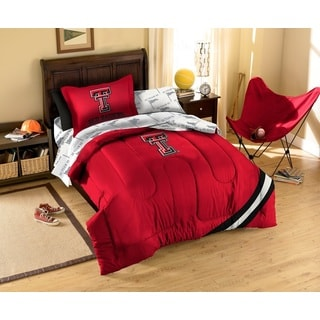 Texas Tech University Red Raiders 7-piece Bed in a Bag Set