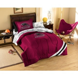 Southern Illinois University Salukis 7-piece Bed in a Bag Set