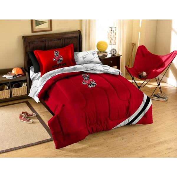 North Carolina State University Wolfpack 5-piece Bed in a Bag Set