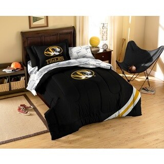 University of Missouri Tigers 7-piece Bed in a Bag Set