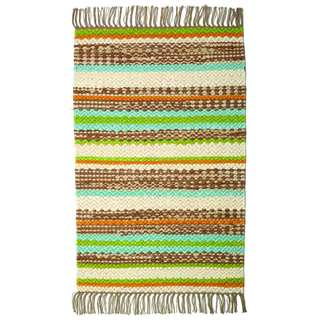 Haven Cotton Rectangle Rug (4' x 6')