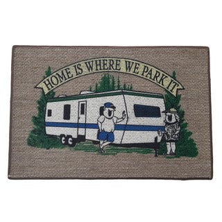 RV Parking Indoor Mat