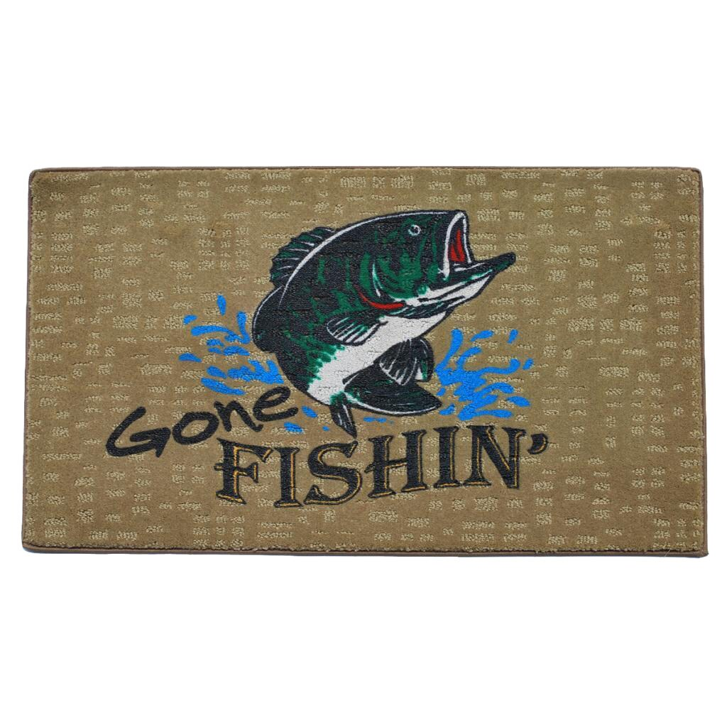 Momentum Mats 'Gone Fishing' Indoor Mat at Sears.com