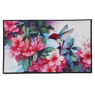 Hummingbird Design Indoor Mat