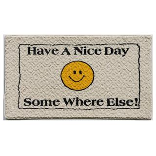 'Have a Nice Day' Indoor Mat