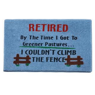 'Retired' Indoor Mat