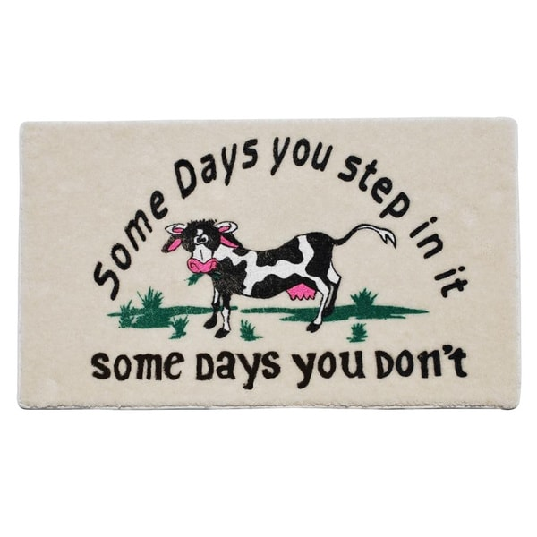 'Some Days' Indoor Mat