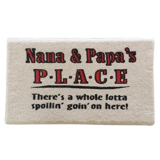 Nana and Papa Indoor Mat
