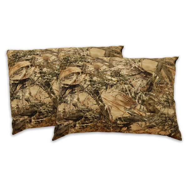 True Timber Conceal Camouflage Microfiber Pillow (Set of 2)