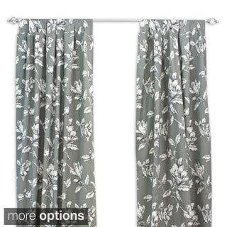 Antebellum Graphite 84-inch Curtain Panel