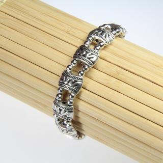 Tibetan-style Tibetan Silver Bracelet (China)