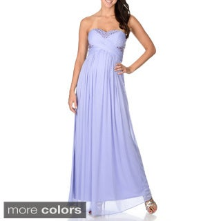 Decode 1.8 Women's Strapless Sweetheart Evening Gown