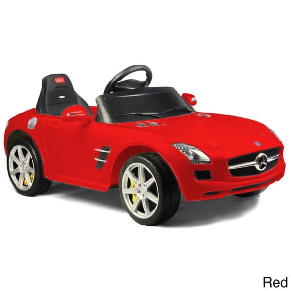Mercedes-Benz SLS AMG Rastar 6V Remote Controlled Ride-on