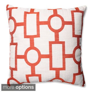 Pillow Perfect Ellington Mandarin Throw Pillow