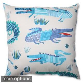 Pillow Perfect Croc Rhythm Throw Pillow