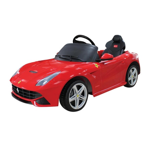 Merske Ferrari F12 Rastar 12V Remote Controlled Ride-on