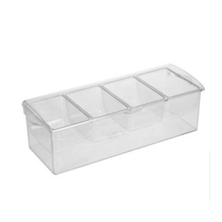 Sorbus Condiment Tray with Ice Chamber