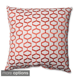 Pillow Perfect Delightful Tigerlily Throw Pillow