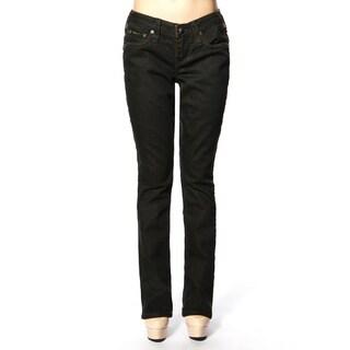 Stitch's Women's Slim Straight Leg Low Rise Denim Jeans