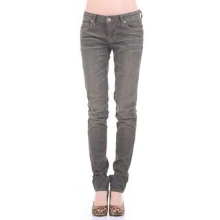 Stitch's Women's Dark Blue Straight Jeans