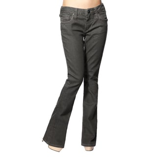 Stitch's Women's Grey Straight-leg Soft Jeans