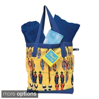 Beach in a Bag Tote with Towel and Cooling Mat
