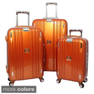 Heys Crown Edition M Elite 3-piece Hardside Spinner Upright Luggage Set