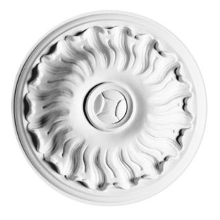 7-inch Swirling Medallion