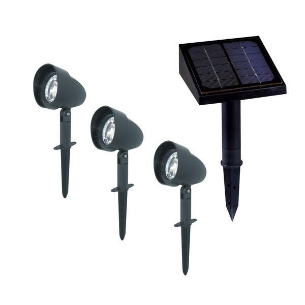 Solar Landscape Spotlights (Pack of 3)