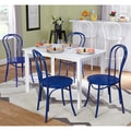 review detail Simple Living Vintage Occasion Navy/ White 5-piece Dining Set