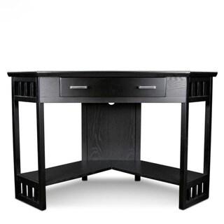 Hardwood Corner Laptop Desk
