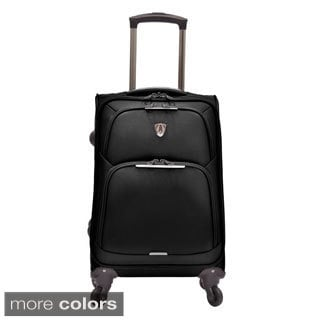 Traveler's Choice Zion 22-inch Superlight Carry On Spinner Upright Suitcase