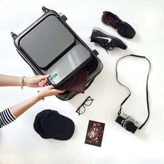Lojel Horizon 21.75-inch Hardside Carry-on Spinner Upright Suitcase