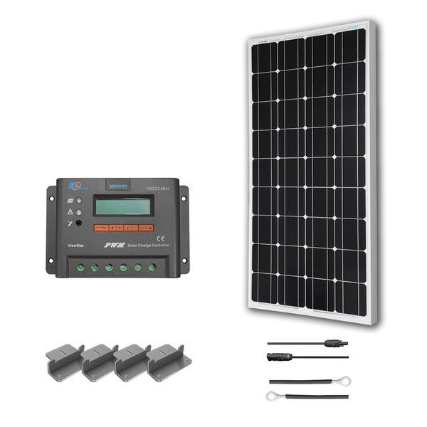 Renogy RV 100-watt Solar Panel Kit