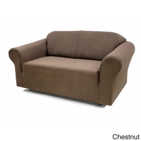 Stretch Suede Sofa Slipcover