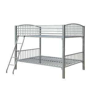 Powell Pewter Econo Full-over-Full Bunk Bed