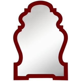Vivian Wine Red Mirror